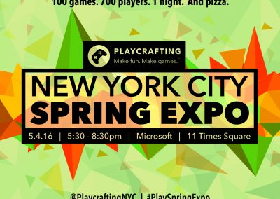 Playcrafting Spring Expo
